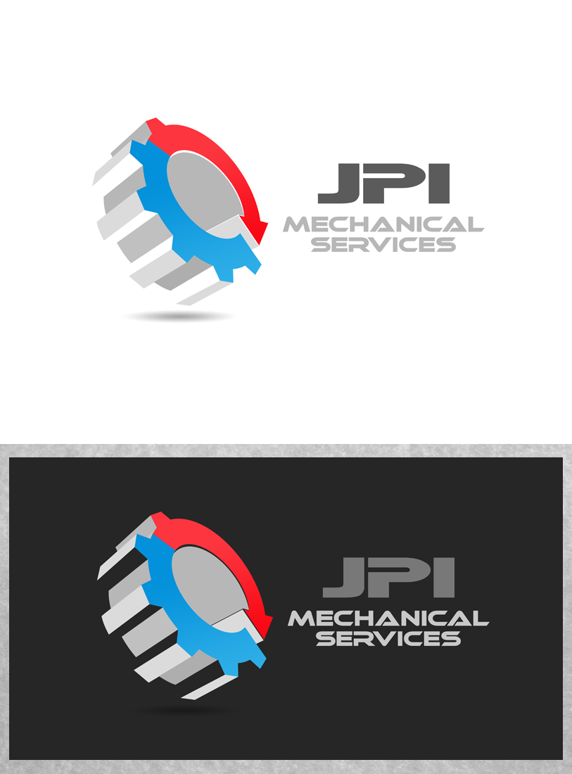 Logo Design by Private User - Entry No. 35 in the Logo Design Contest Inspiring Logo Design for JPI Mecanical Services.