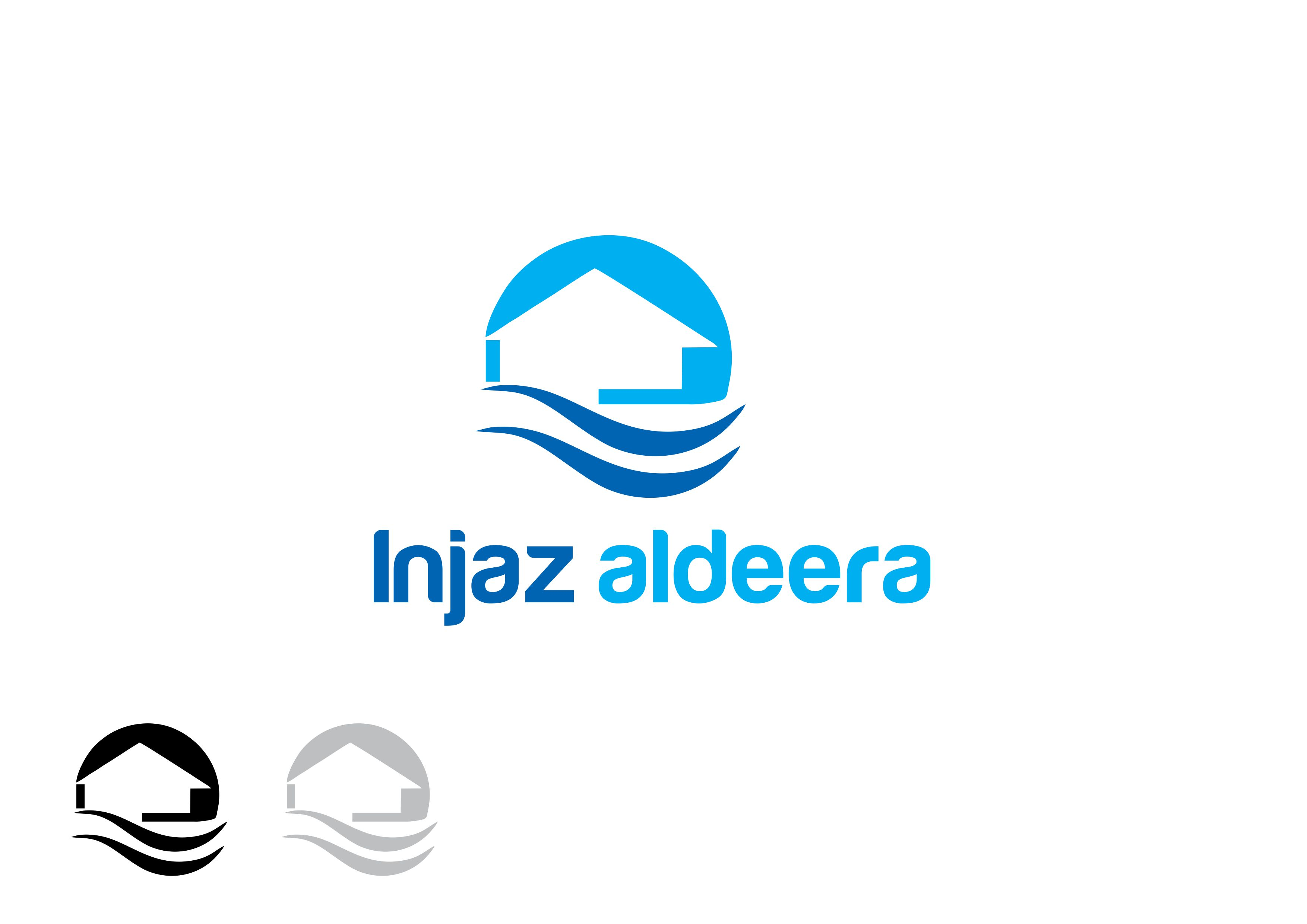 Logo Design by Tenstar Design - Entry No. 58 in the Logo Design Contest Fun Logo Design for Injaz aldeera.
