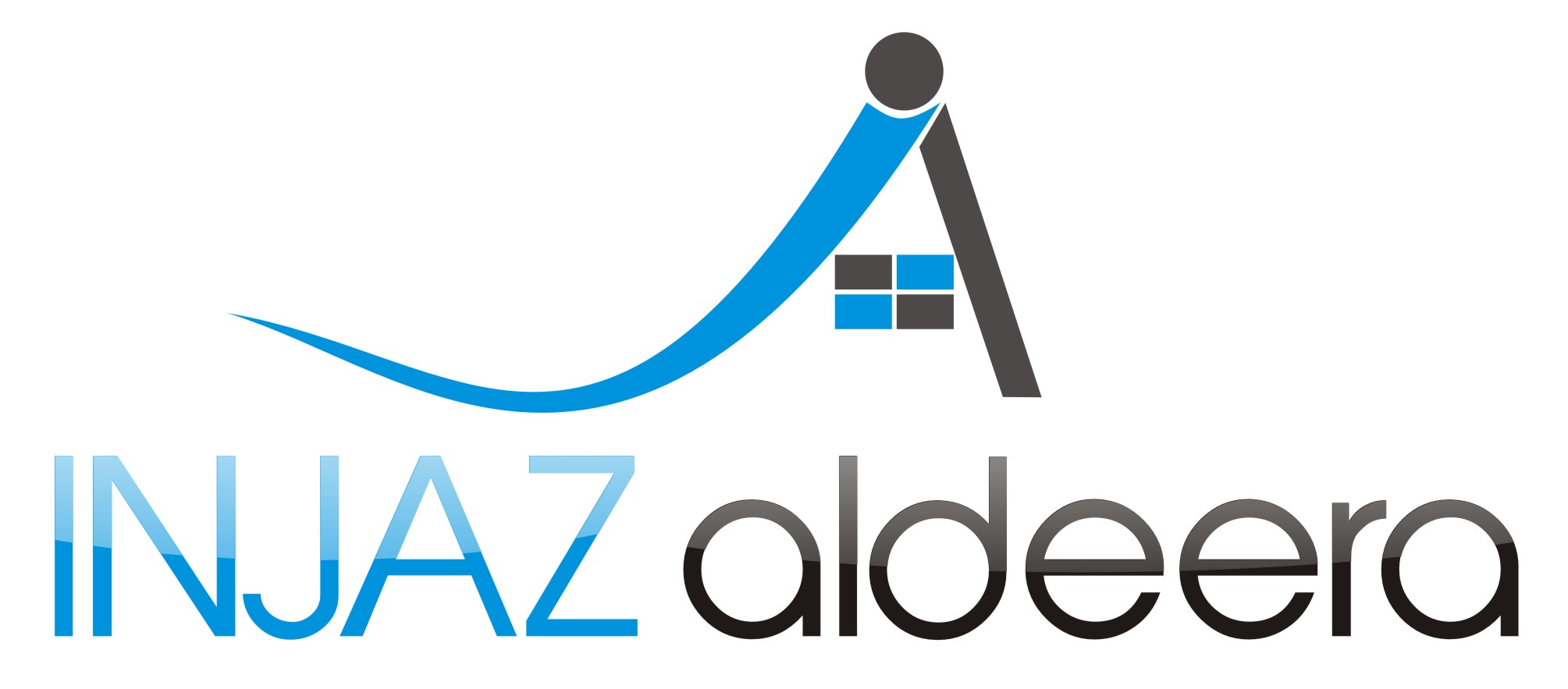 Logo Design by Arief Zuhud Romdhon - Entry No. 63 in the Logo Design Contest Fun Logo Design for Injaz aldeera.