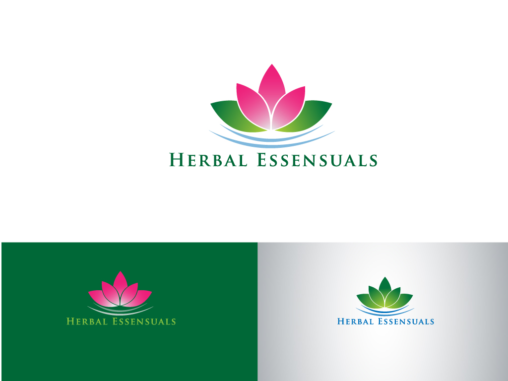 Logo Design by Mehedi Hasan - Entry No. 126 in the Logo Design Contest Captivating Logo Design for Herbal Essensuals.
