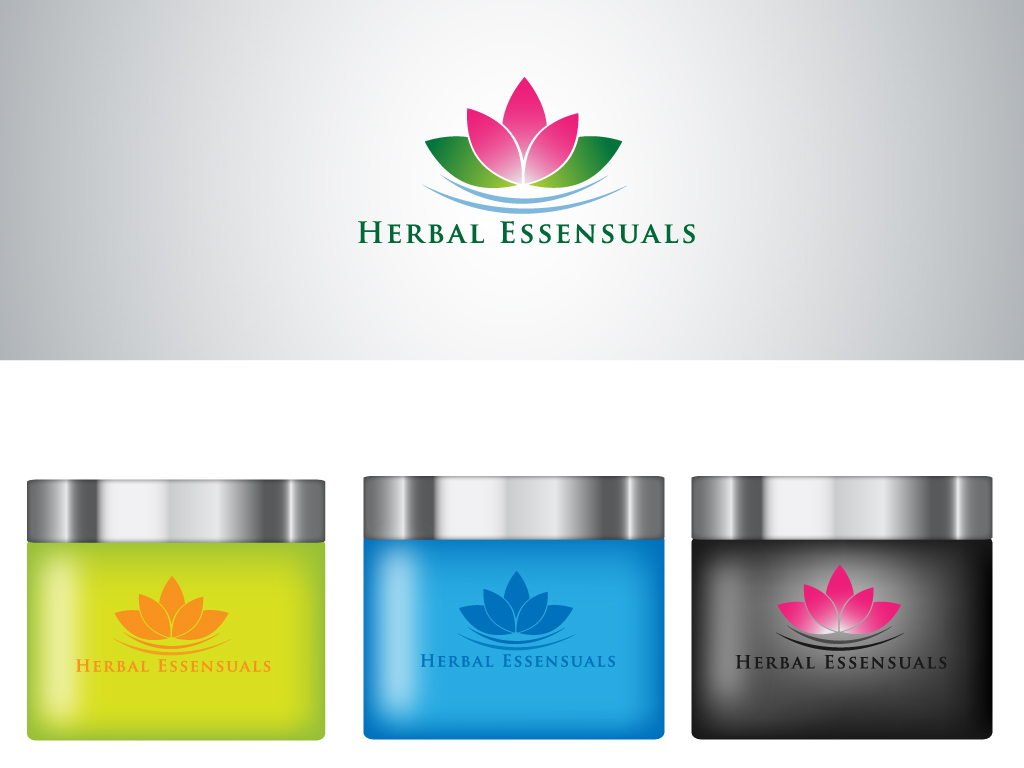 Logo Design by Mehedi Hasan - Entry No. 127 in the Logo Design Contest Captivating Logo Design for Herbal Essensuals.