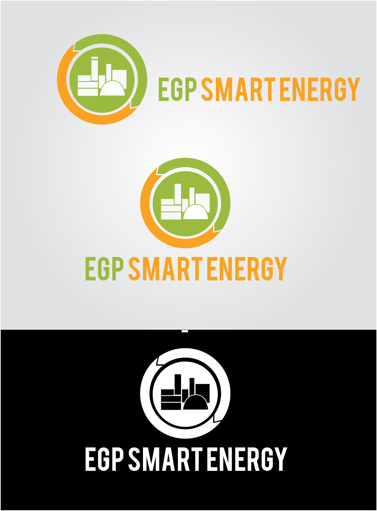 Logo Design by mediaproductionart - Entry No. 39 in the Logo Design Contest Captivating Logo Design for EGP Smart Energy.