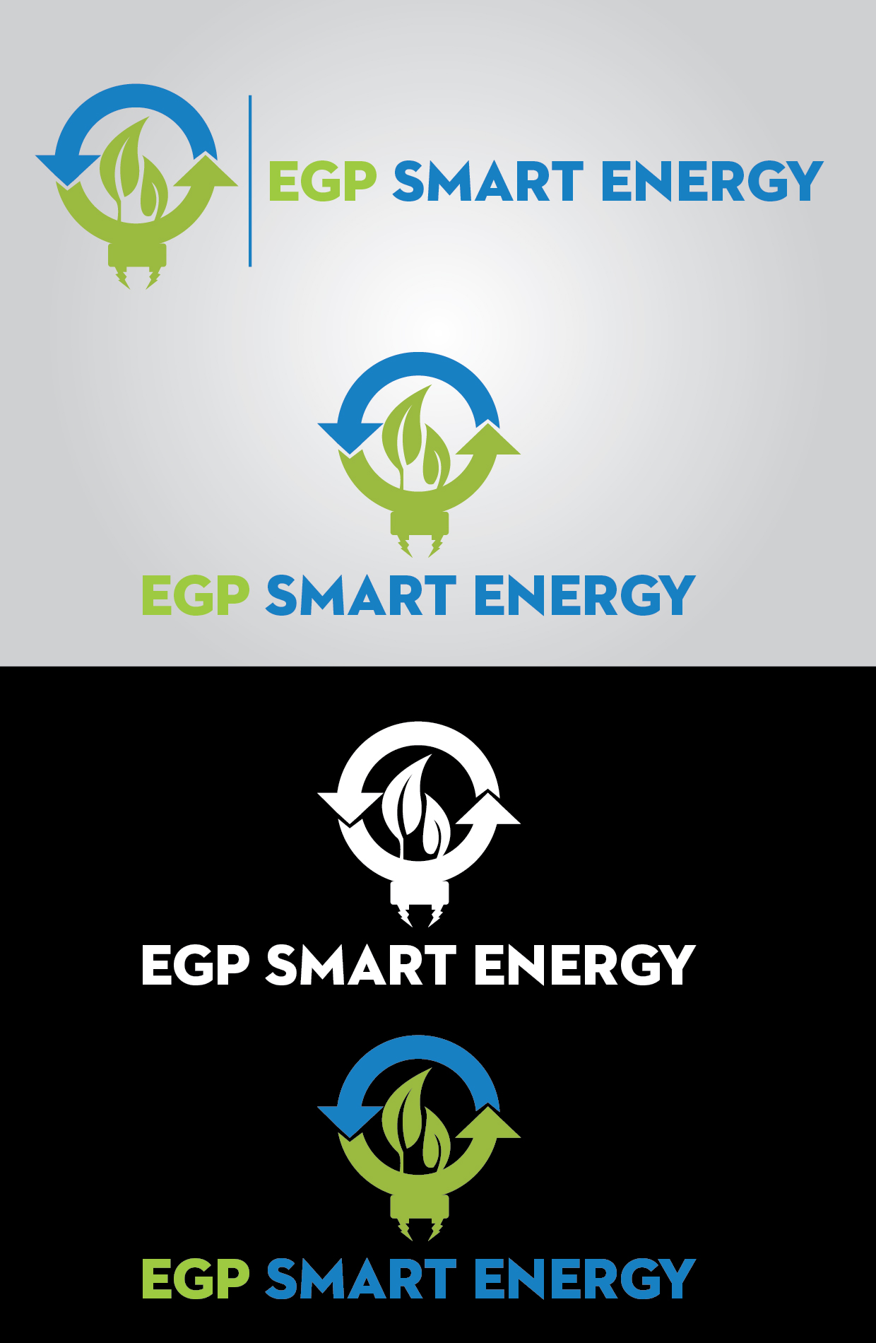 Logo Design by mediaproductionart - Entry No. 40 in the Logo Design Contest Captivating Logo Design for EGP Smart Energy.