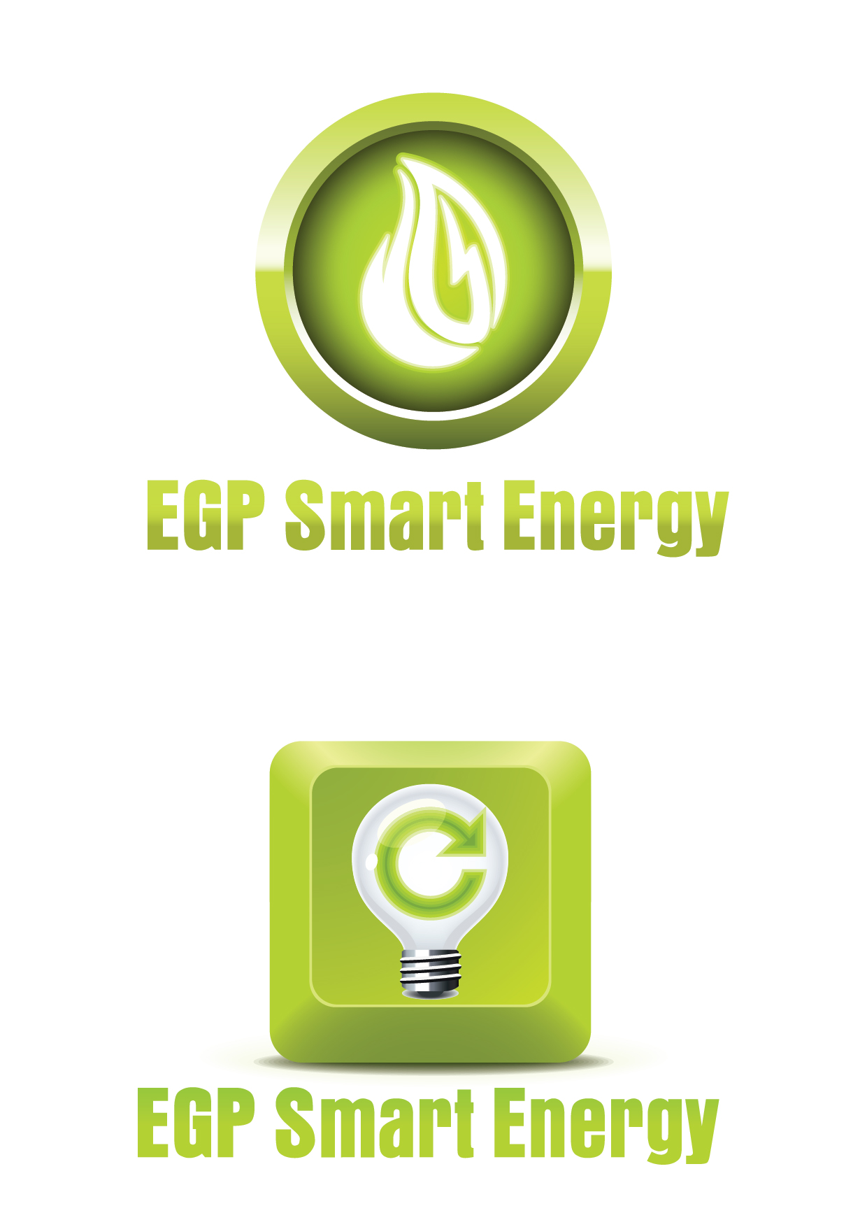 Logo Design by mediaproductionart - Entry No. 41 in the Logo Design Contest Captivating Logo Design for EGP Smart Energy.