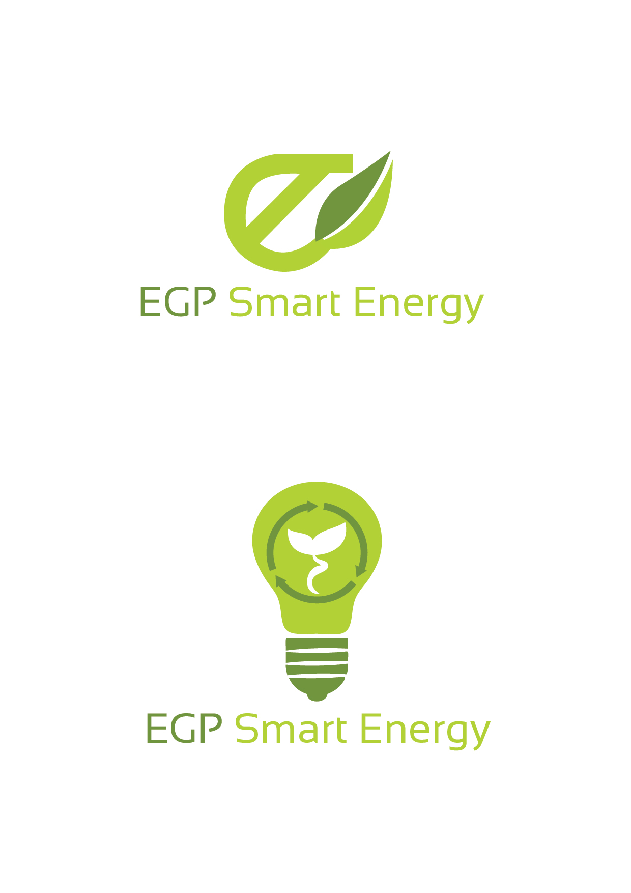 Logo Design by mediaproductionart - Entry No. 42 in the Logo Design Contest Captivating Logo Design for EGP Smart Energy.