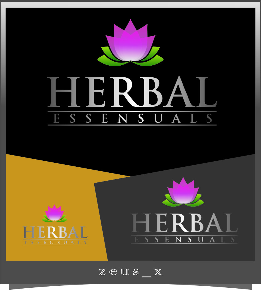 Logo Design by Ngepet_art - Entry No. 130 in the Logo Design Contest Captivating Logo Design for Herbal Essensuals.