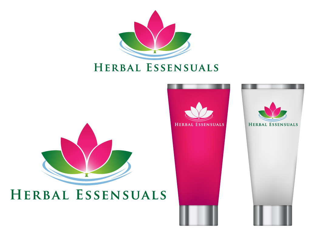 Logo Design by Mehedi Hasan - Entry No. 131 in the Logo Design Contest Captivating Logo Design for Herbal Essensuals.