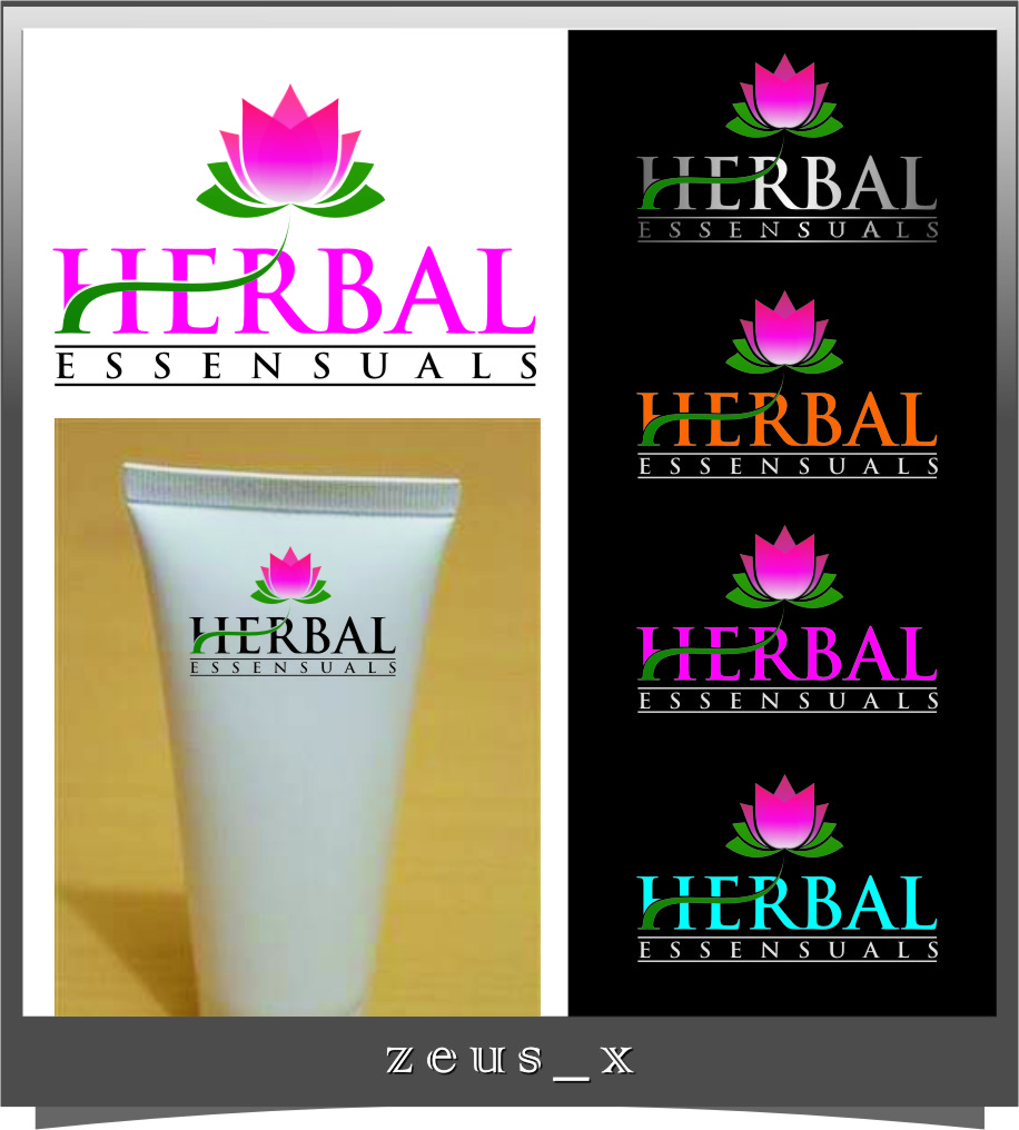 Logo Design by Ngepet_art - Entry No. 139 in the Logo Design Contest Captivating Logo Design for Herbal Essensuals.