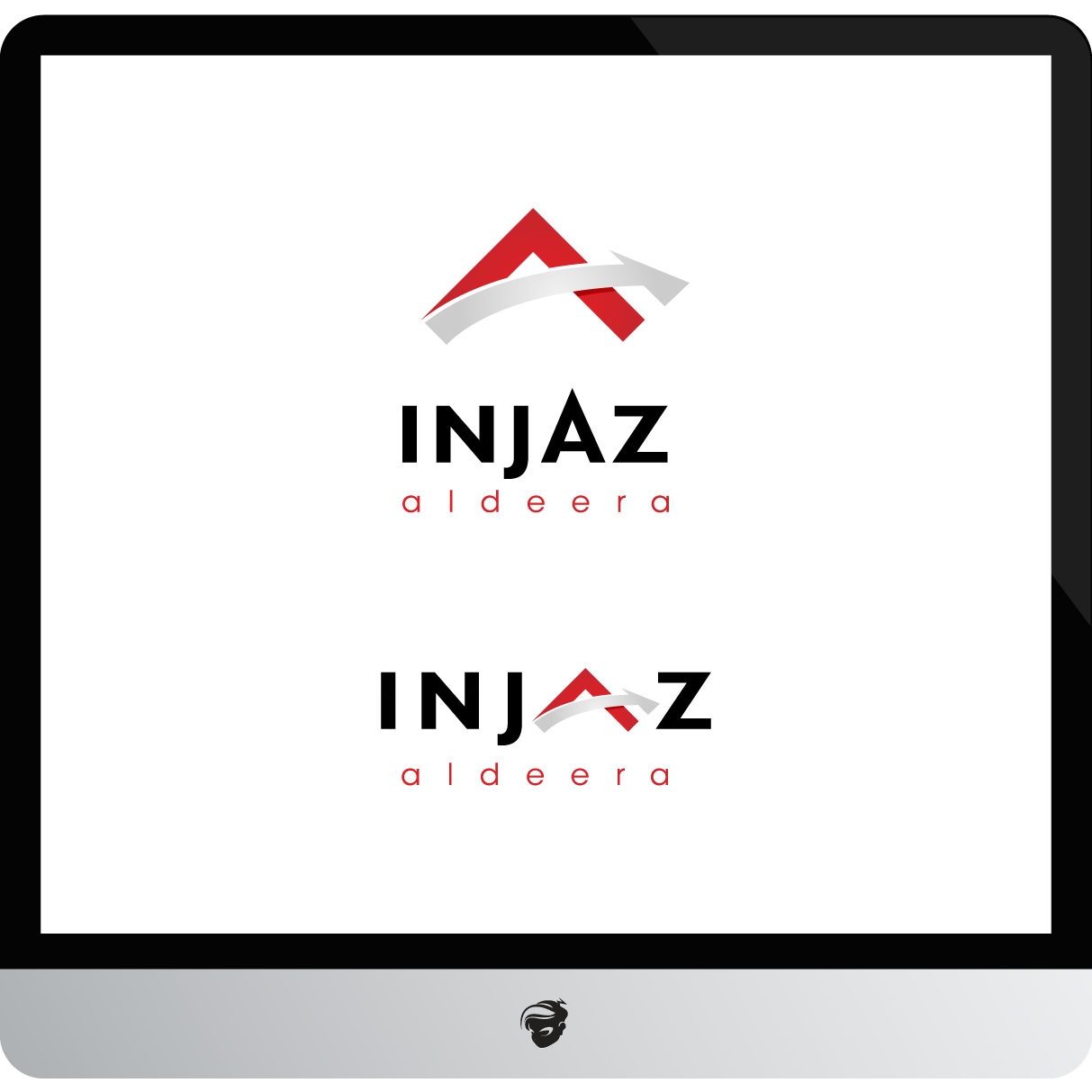 Logo Design by zesthar - Entry No. 66 in the Logo Design Contest Fun Logo Design for Injaz aldeera.