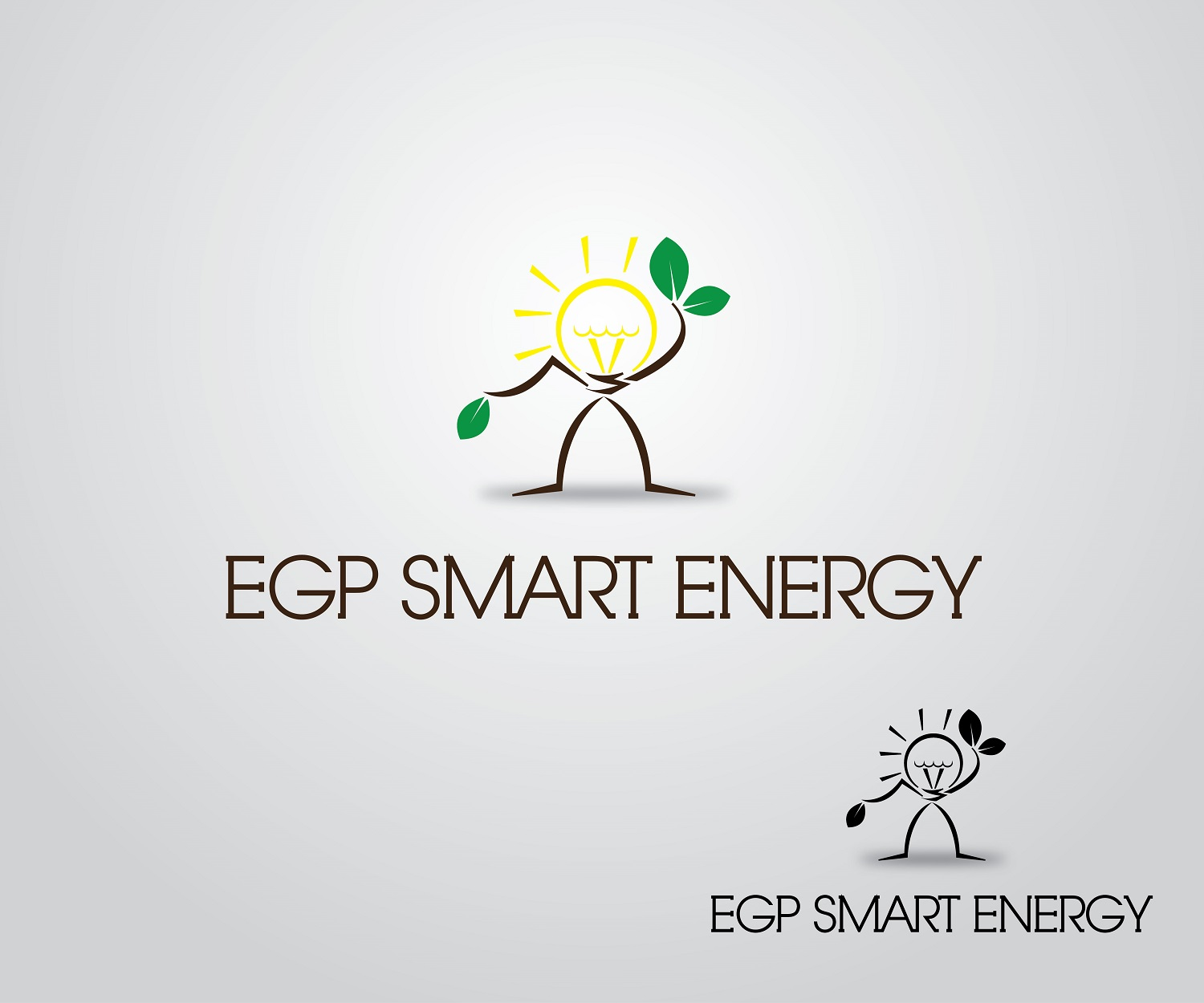 Logo Design by jhunzkie24 - Entry No. 51 in the Logo Design Contest Captivating Logo Design for EGP Smart Energy.