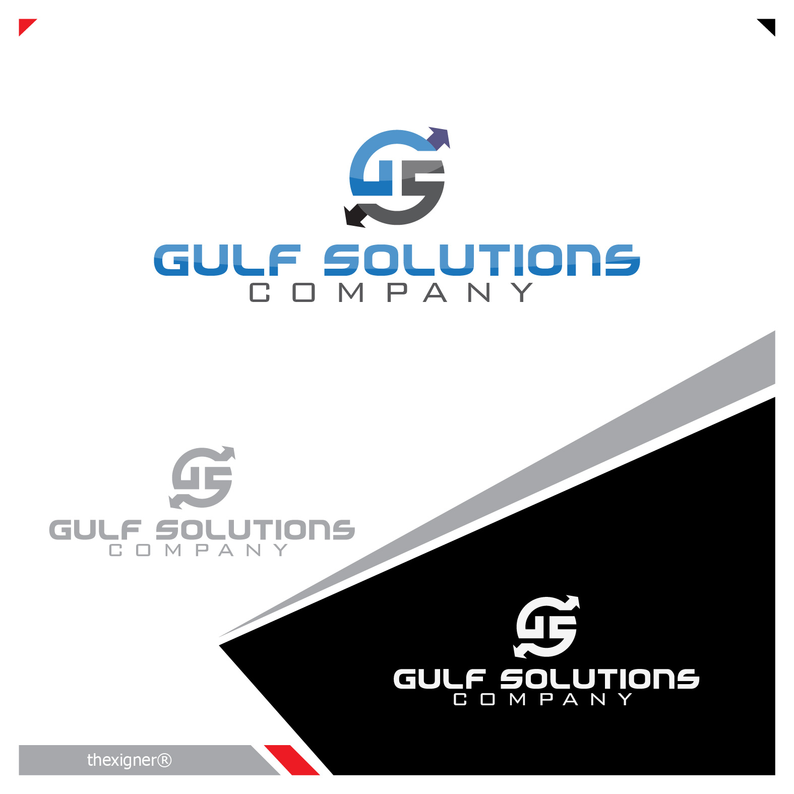 Logo Design by lagalag - Entry No. 74 in the Logo Design Contest New Logo Design for Gulf solutions company.