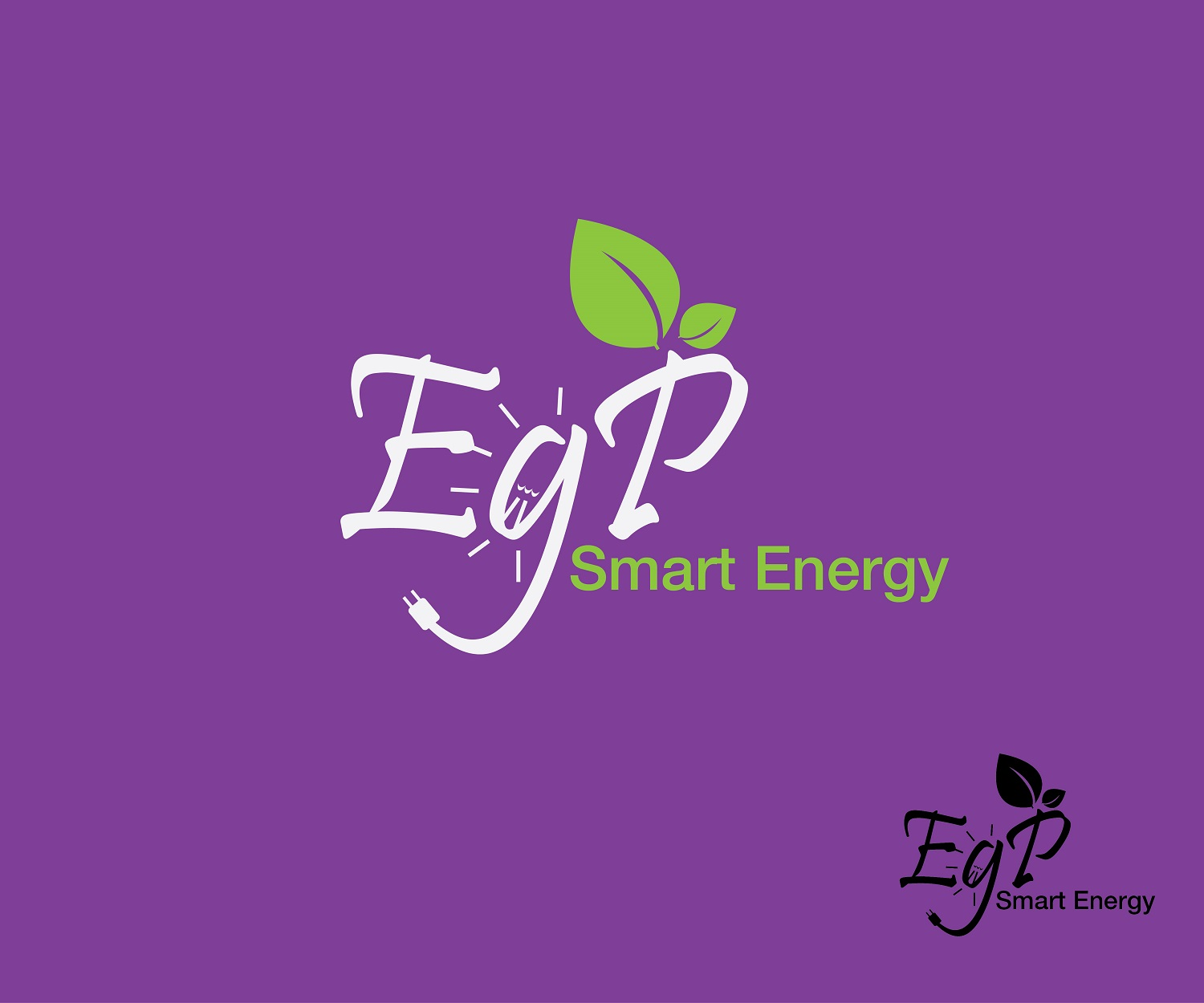 Logo Design by jhunzkie24 - Entry No. 53 in the Logo Design Contest Captivating Logo Design for EGP Smart Energy.