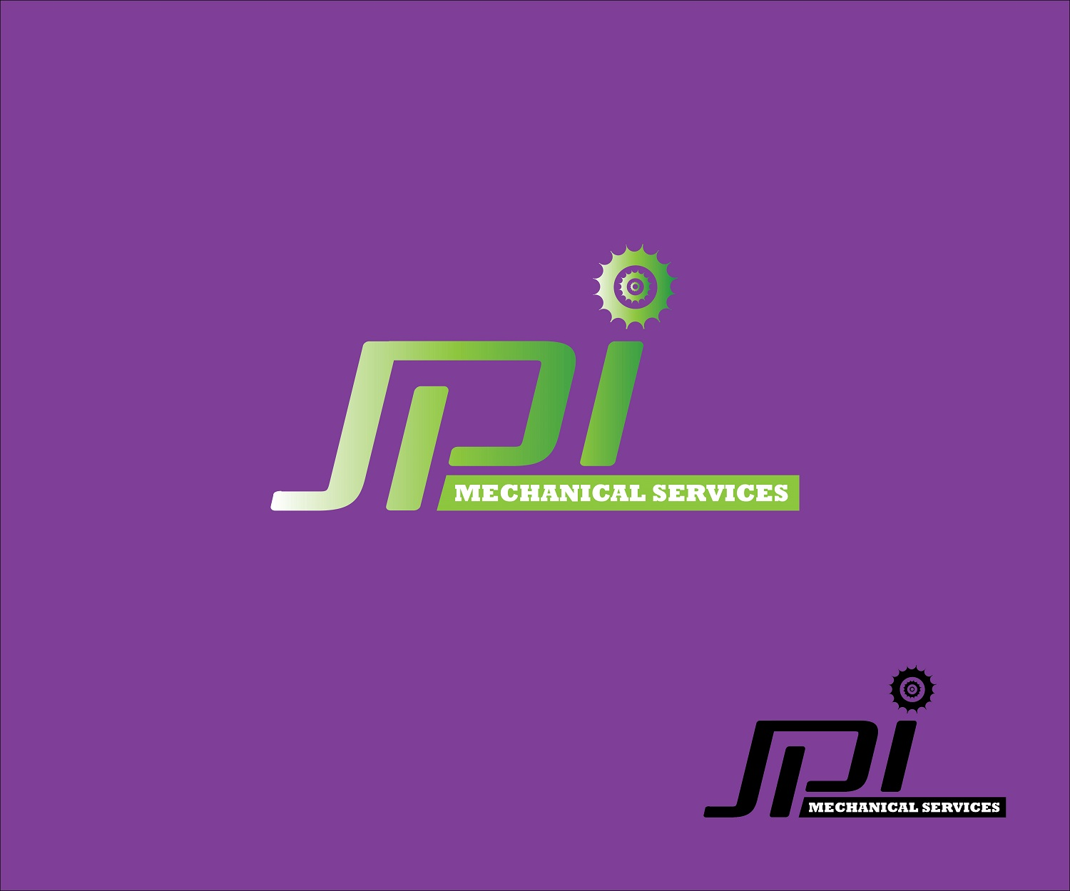 Logo Design by jhunzkie24 - Entry No. 40 in the Logo Design Contest Inspiring Logo Design for JPI Mecanical Services.