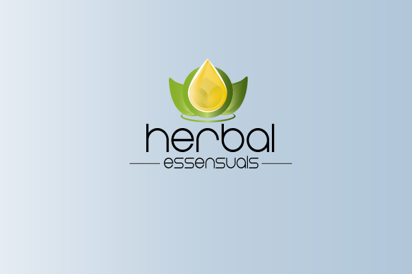 Logo Design by Afechkou Jihad - Entry No. 152 in the Logo Design Contest Captivating Logo Design for Herbal Essensuals.