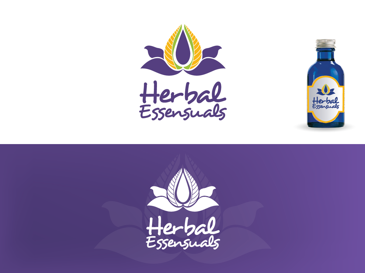 Logo Design by Private User - Entry No. 153 in the Logo Design Contest Captivating Logo Design for Herbal Essensuals.