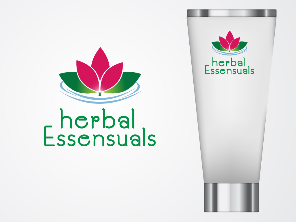 Logo Design by Mehedi Hasan - Entry No. 170 in the Logo Design Contest Captivating Logo Design for Herbal Essensuals.