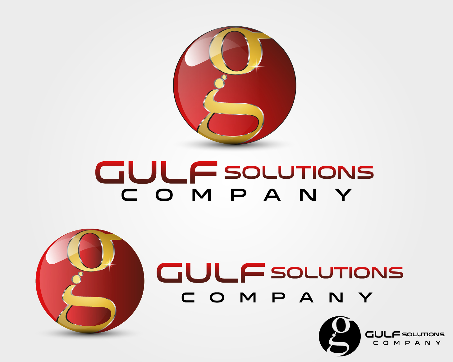 Logo Design by VENTSISLAV KOVACHEV - Entry No. 80 in the Logo Design Contest New Logo Design for Gulf solutions company.