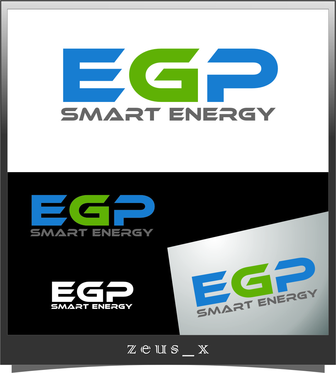Logo Design by Ngepet_art - Entry No. 57 in the Logo Design Contest Captivating Logo Design for EGP Smart Energy.