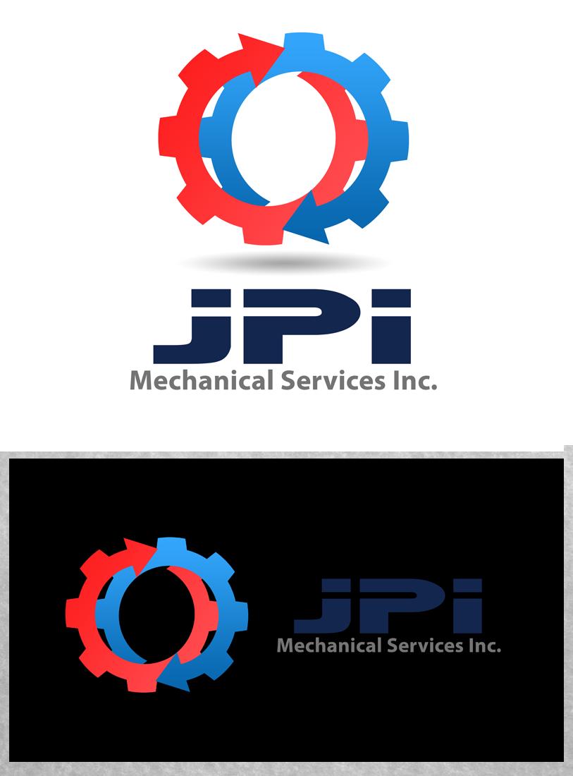 Logo Design by Private User - Entry No. 45 in the Logo Design Contest Inspiring Logo Design for JPI Mecanical Services.