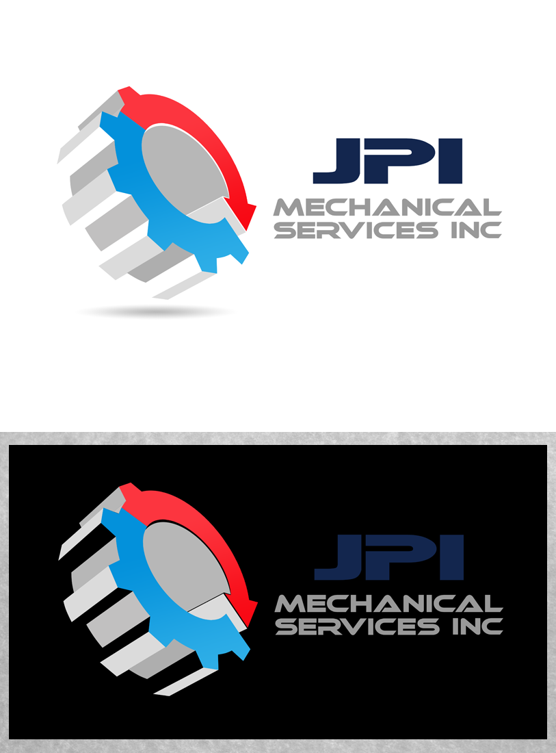 Logo Design by Private User - Entry No. 46 in the Logo Design Contest Inspiring Logo Design for JPI Mecanical Services.