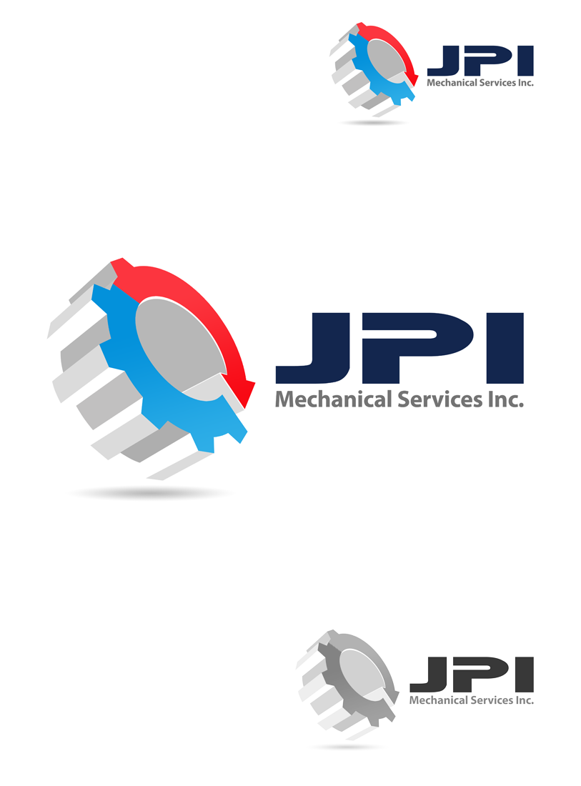 Logo Design by Private User - Entry No. 47 in the Logo Design Contest Inspiring Logo Design for JPI Mecanical Services.