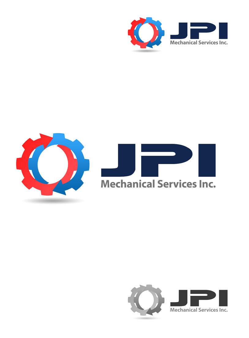 Logo Design by Private User - Entry No. 48 in the Logo Design Contest Inspiring Logo Design for JPI Mecanical Services.