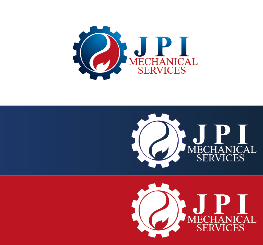 Logo Design by Private User - Entry No. 51 in the Logo Design Contest Inspiring Logo Design for JPI Mecanical Services.