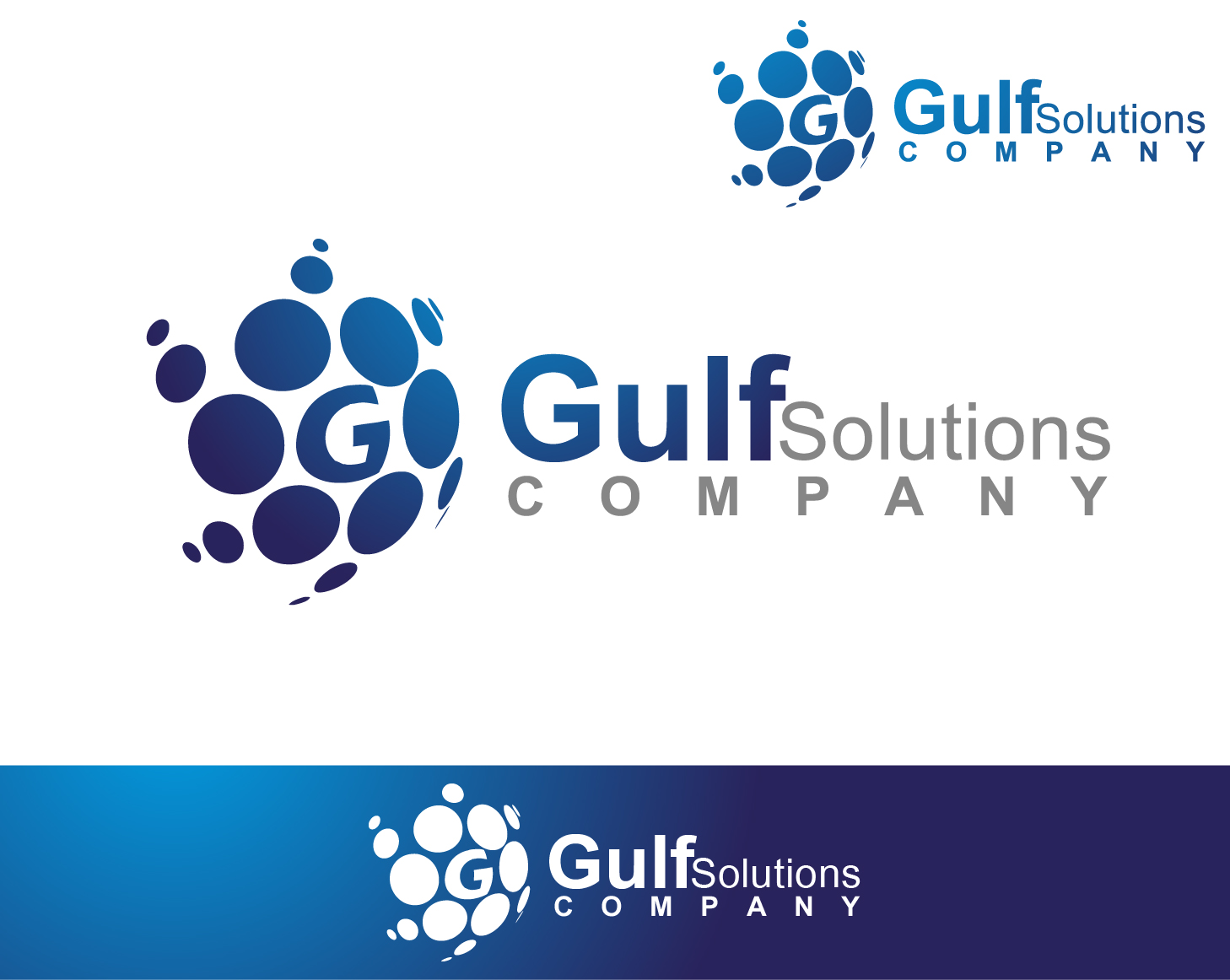 Logo Design by VENTSISLAV KOVACHEV - Entry No. 88 in the Logo Design Contest New Logo Design for Gulf solutions company.