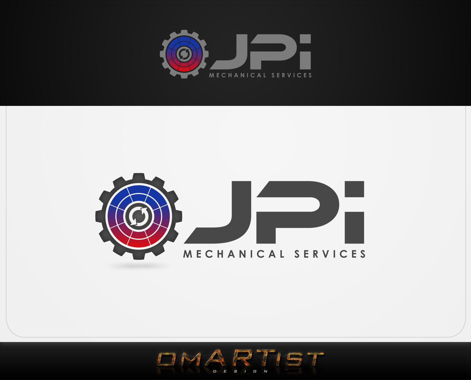 Logo Design by omARTist - Entry No. 59 in the Logo Design Contest Inspiring Logo Design for JPI Mecanical Services.