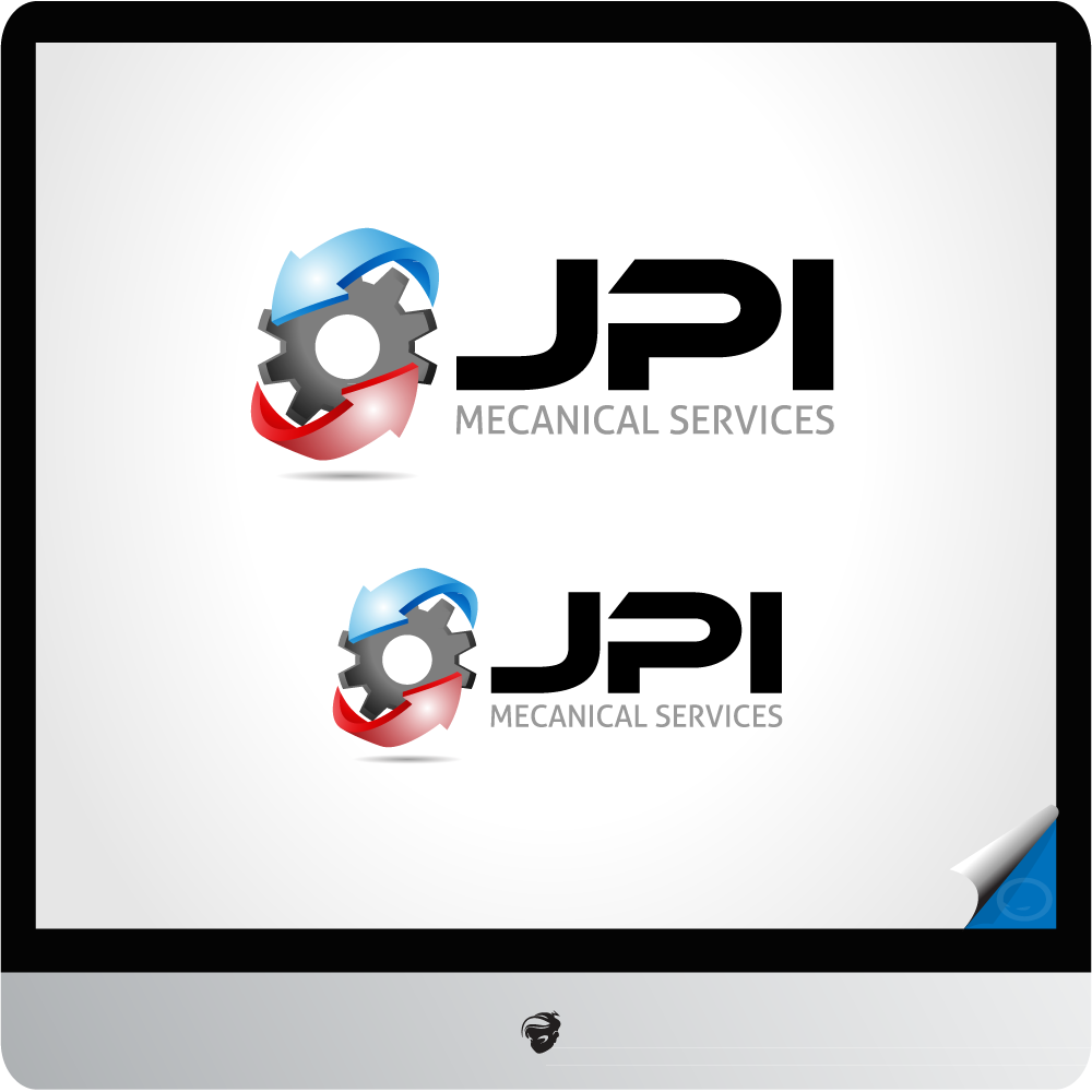 Logo Design by zesthar - Entry No. 60 in the Logo Design Contest Inspiring Logo Design for JPI Mecanical Services.