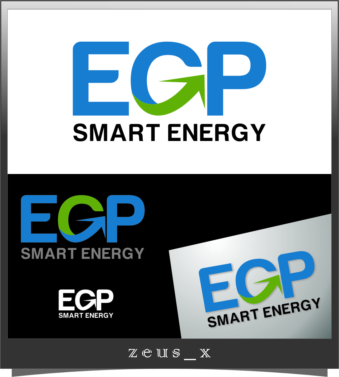 Logo Design by RasYa Muhammad Athaya - Entry No. 62 in the Logo Design Contest Captivating Logo Design for EGP Smart Energy.