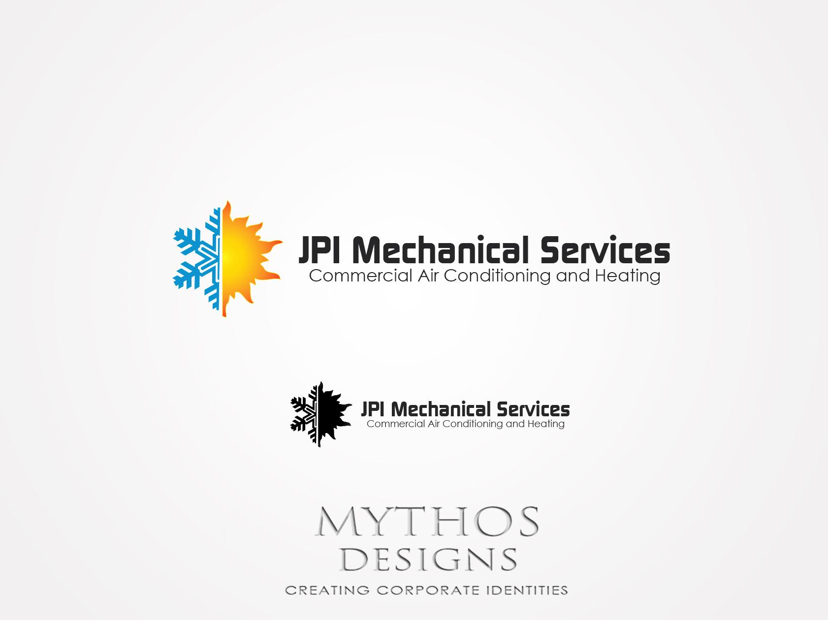 Logo Design by Mythos Designs - Entry No. 68 in the Logo Design Contest Inspiring Logo Design for JPI Mecanical Services.