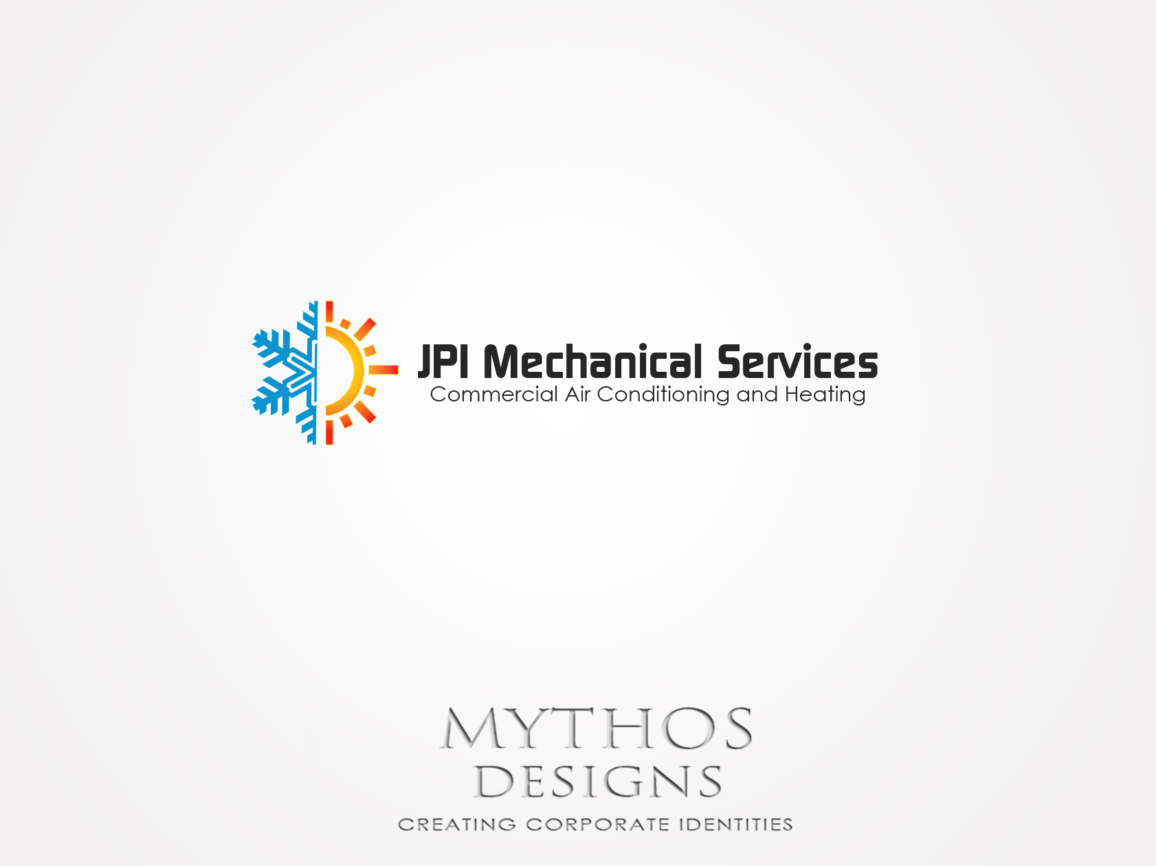 Logo Design by Mythos Designs - Entry No. 69 in the Logo Design Contest Inspiring Logo Design for JPI Mecanical Services.