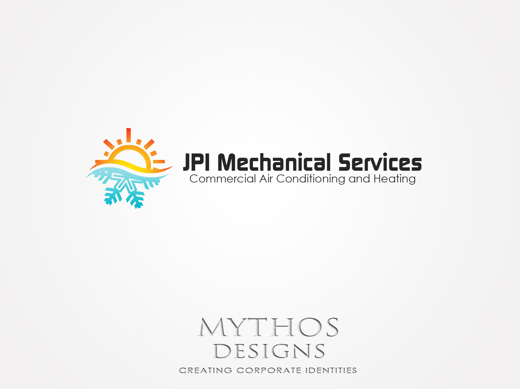 Logo Design by Mythos Designs - Entry No. 73 in the Logo Design Contest Inspiring Logo Design for JPI Mecanical Services.