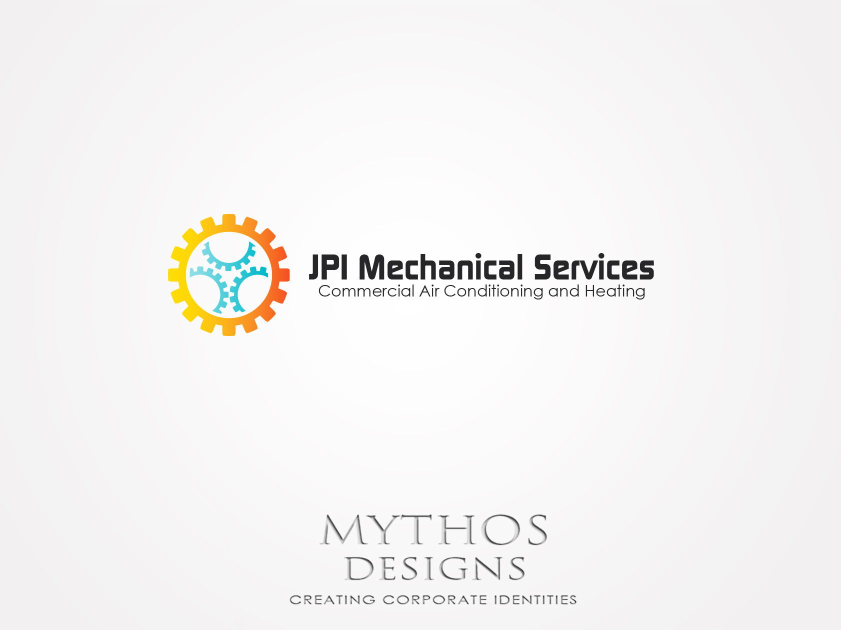 Logo Design by Mythos Designs - Entry No. 75 in the Logo Design Contest Inspiring Logo Design for JPI Mecanical Services.