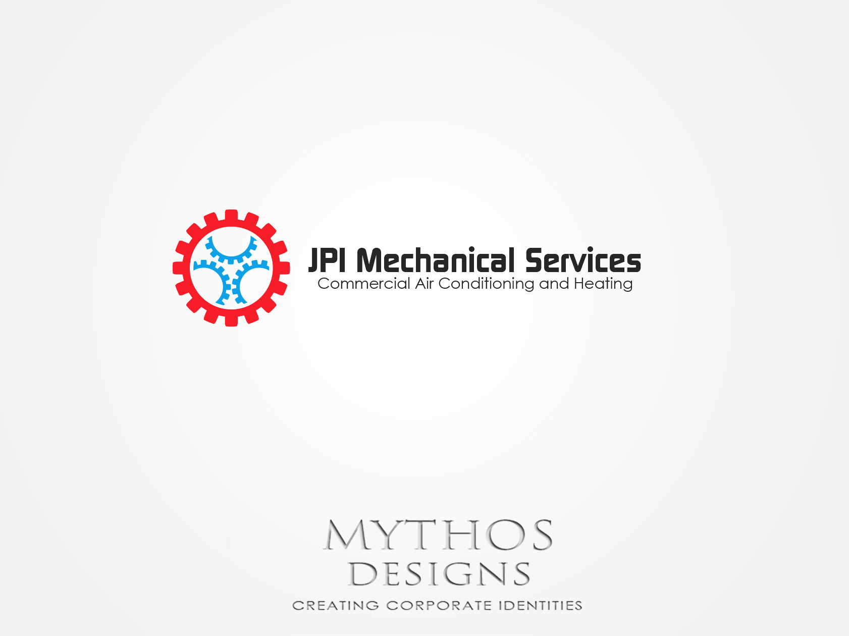 Logo Design by Mythos Designs - Entry No. 76 in the Logo Design Contest Inspiring Logo Design for JPI Mecanical Services.