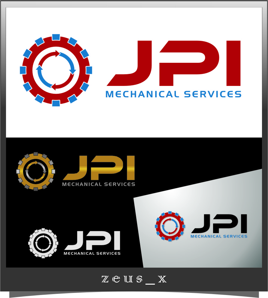 Logo Design by RasYa Muhammad Athaya - Entry No. 77 in the Logo Design Contest Inspiring Logo Design for JPI Mecanical Services.