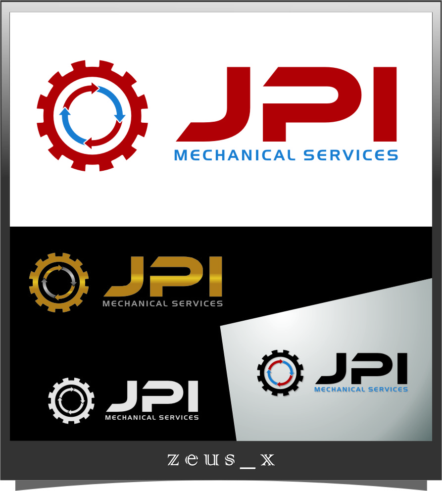 Logo Design by RoSyid Rono-Rene On Java - Entry No. 78 in the Logo Design Contest Inspiring Logo Design for JPI Mecanical Services.