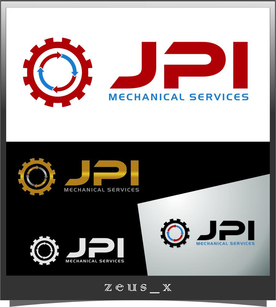 Logo Design by RasYa Muhammad Athaya - Entry No. 78 in the Logo Design Contest Inspiring Logo Design for JPI Mecanical Services.