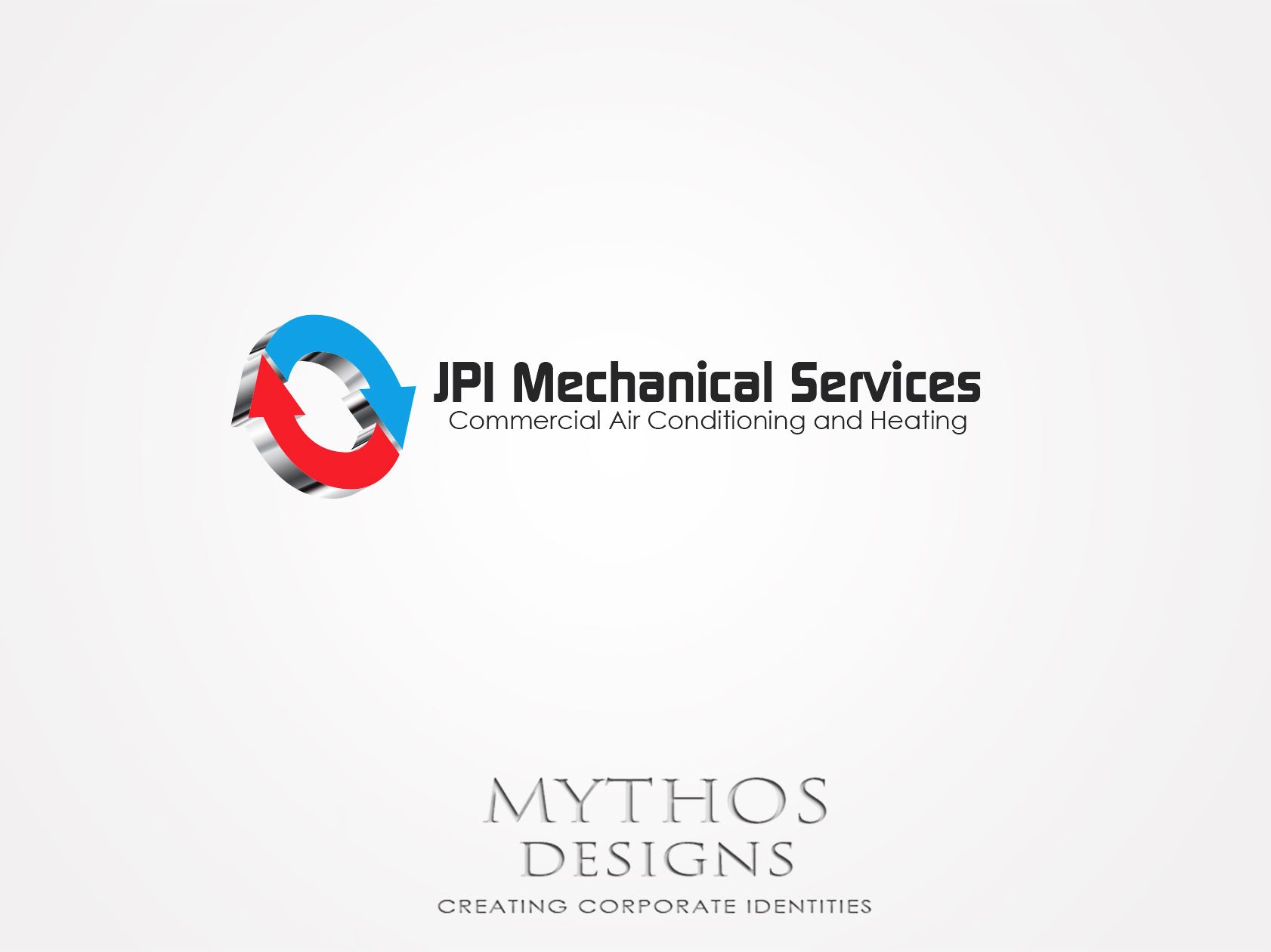 Logo Design by Mythos Designs - Entry No. 79 in the Logo Design Contest Inspiring Logo Design for JPI Mecanical Services.