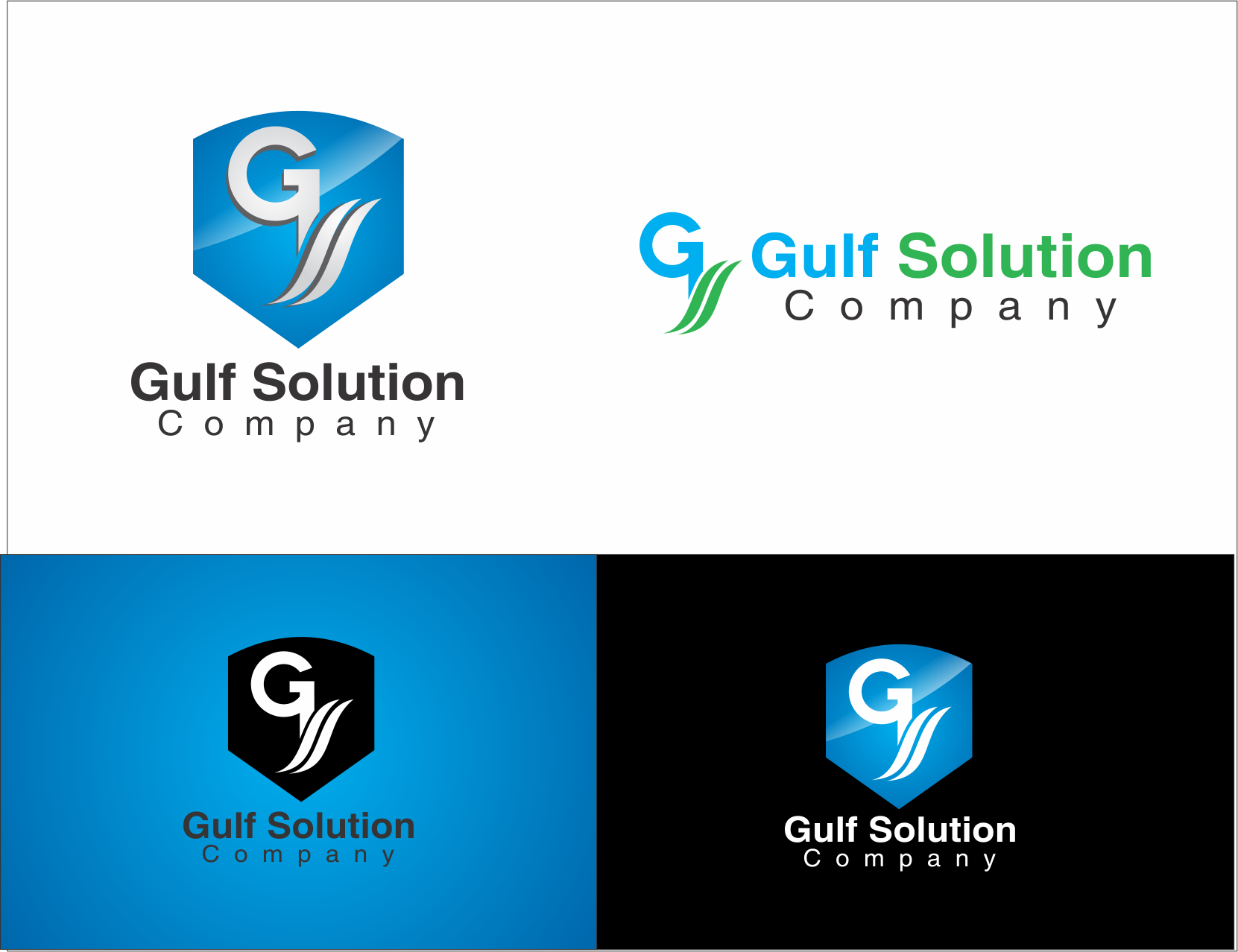 Logo Design by Yansen Yansen - Entry No. 91 in the Logo Design Contest New Logo Design for Gulf solutions company.