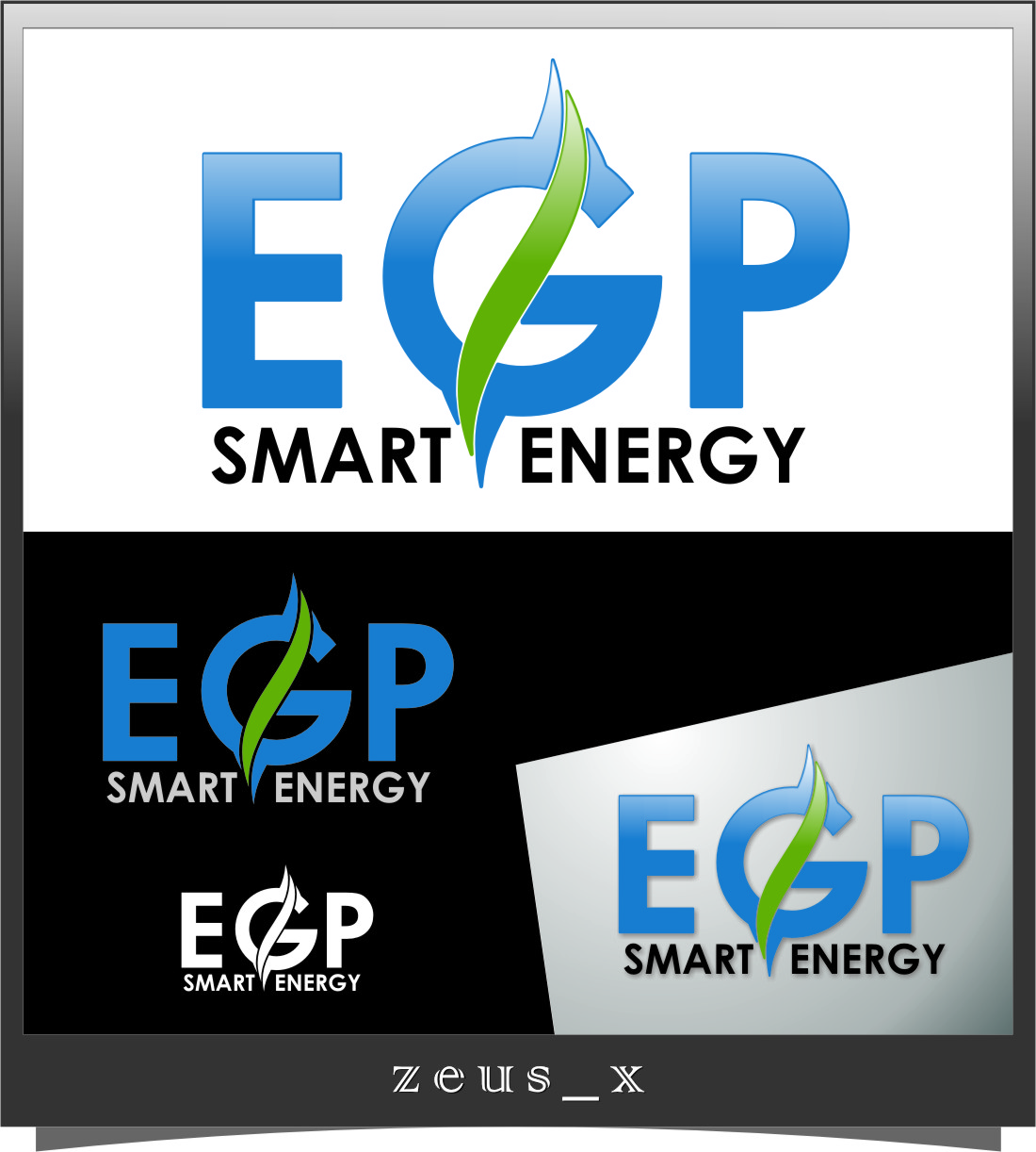 Logo Design by Ngepet_art - Entry No. 68 in the Logo Design Contest Captivating Logo Design for EGP Smart Energy.