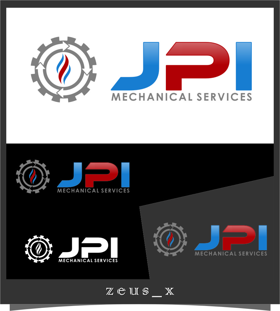 Logo Design by Ngepet_art - Entry No. 80 in the Logo Design Contest Inspiring Logo Design for JPI Mecanical Services.