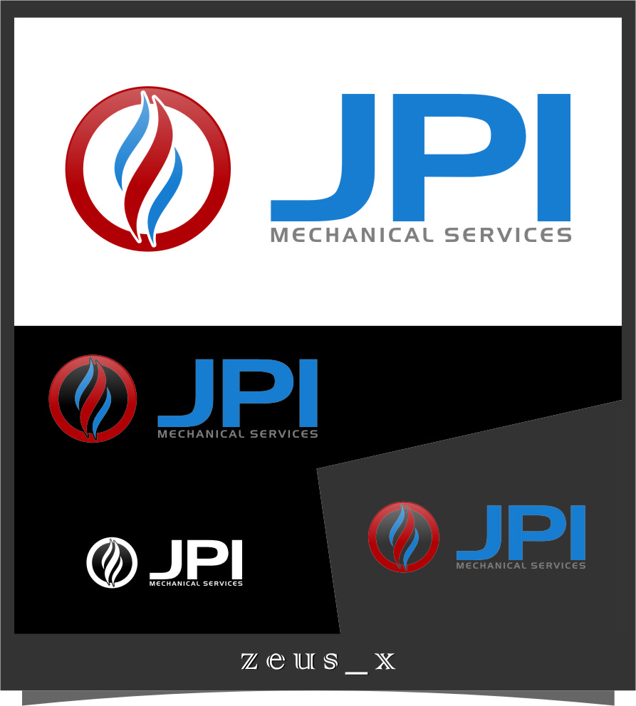 Logo Design by Ngepet_art - Entry No. 81 in the Logo Design Contest Inspiring Logo Design for JPI Mecanical Services.