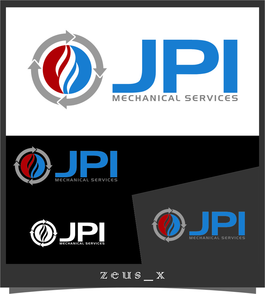Logo Design by RasYa Muhammad Athaya - Entry No. 82 in the Logo Design Contest Inspiring Logo Design for JPI Mecanical Services.