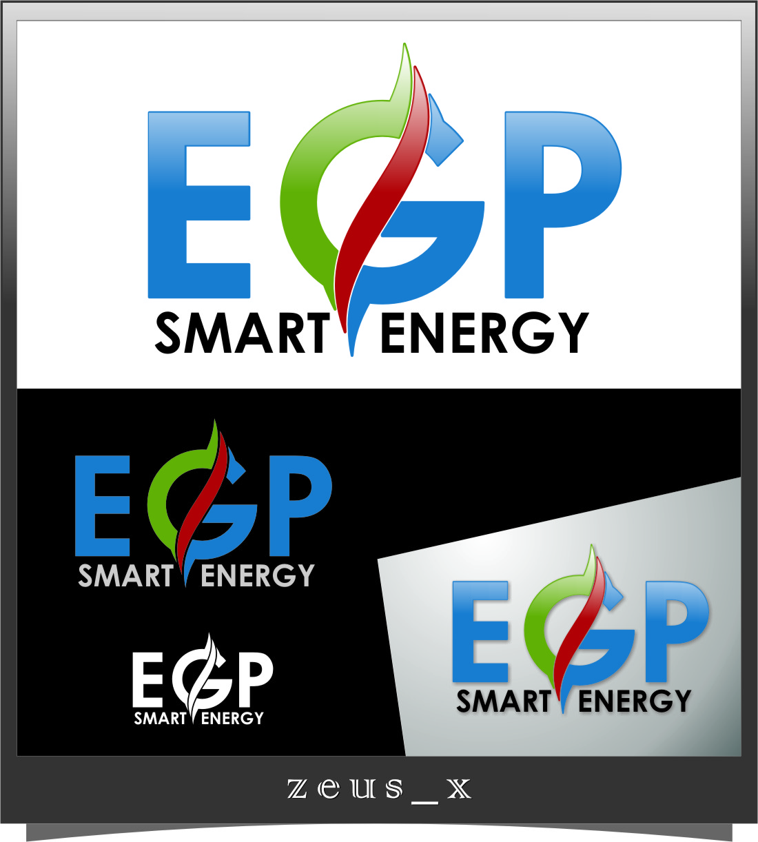 Logo Design by RasYa Muhammad Athaya - Entry No. 70 in the Logo Design Contest Captivating Logo Design for EGP Smart Energy.