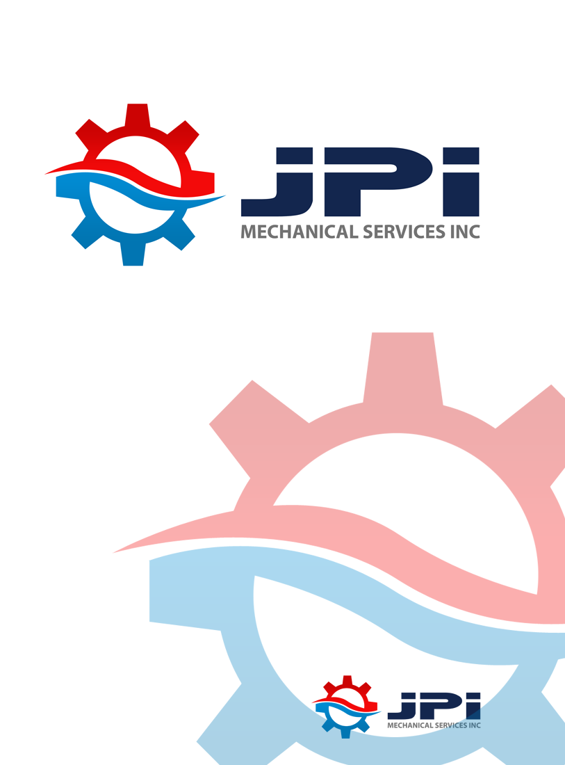 Logo Design by Private User - Entry No. 84 in the Logo Design Contest Inspiring Logo Design for JPI Mecanical Services.