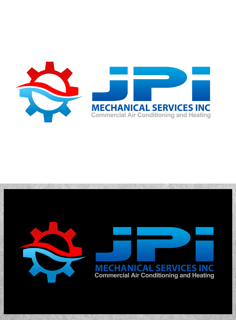 Logo Design by Robert Turla - Entry No. 86 in the Logo Design Contest Inspiring Logo Design for JPI Mecanical Services.