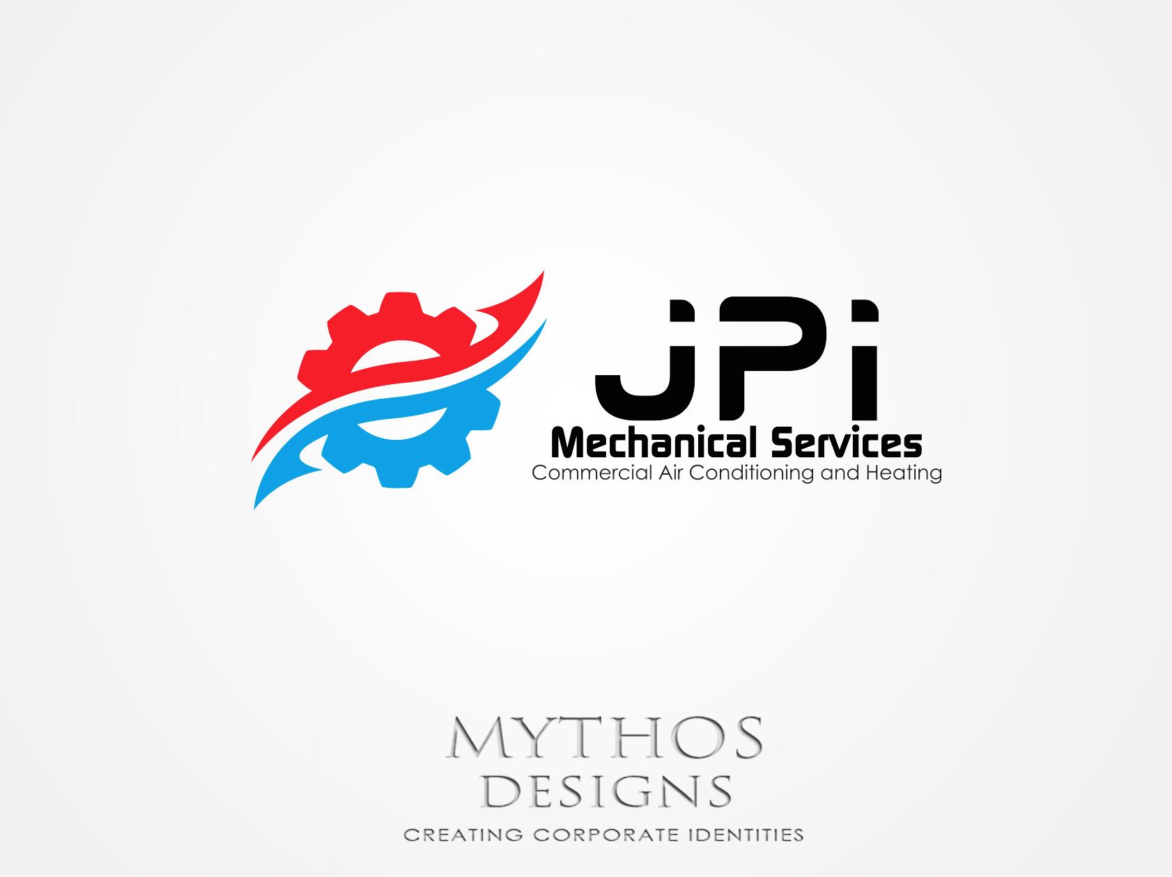 Logo Design by Mythos Designs - Entry No. 98 in the Logo Design Contest Inspiring Logo Design for JPI Mecanical Services.