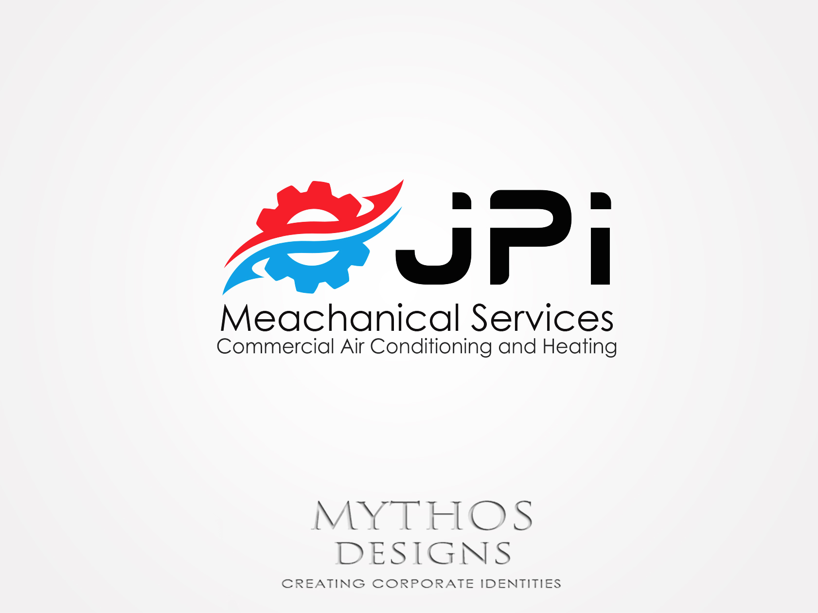 Logo Design by Mythos Designs - Entry No. 102 in the Logo Design Contest Inspiring Logo Design for JPI Mecanical Services.